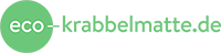 Eco Baby und Kinder Krabbelmatte Logo